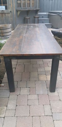 Reclaimed wood table Vaughan, L4H 3A4