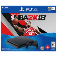 NBA 2K18 Playstation 4 Bundle with Console 1TB PS4