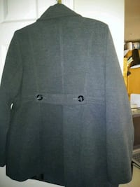 Dark grey mother time button-up jacket Fort Belvoir