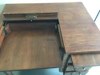Antique secretary typewriter desk Ventura