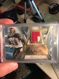 Mike Evans-WR trading card Forest, 24551