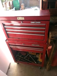 red and gray Craftsman tool chest San Lorenzo, 94580