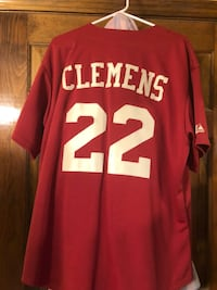 Roger Clemens Red and white # 34 jersey Providence, 02906
