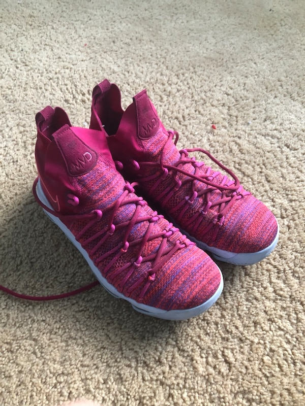 finest selection 9cea8 67bb3 Nike Zoom KD 9 EP Racer Pink IX Kevin Wanda Durant MVP size 11