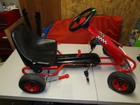 toddler's red and black cart 273 mi