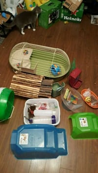 Small pet accessories cage toys all kinds of stuff Brantford, N3P 1G2