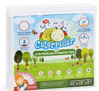 Crib Mattress Protector Pad | 100% Waterproof Bamboo Crib Mattress Cover/Topper for Baby & Toddler | Hypoallergenic | Eco-Friendly | Washer & Dryer Safe | No Harsh Chemicals Monmouth Junction, 08852