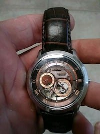 Automatic 21 jewl movement.brown leather band Palm Beach Gardens, 33410