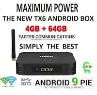 tx6 android box $140 new Pickering