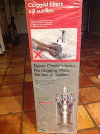 NEW Dyson Cinetic Ball vacuum in unopened box Hudson, 34667