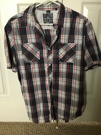 "Buffalo ""David Button"" plaid button up"