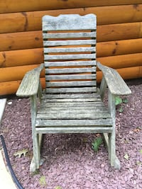 3 Adirondack Chairs - Wood Washington