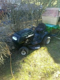 blue and black ride-on mower Christiansburg, 24073
