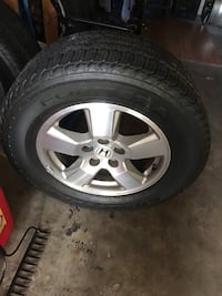 2011 Honda Pilot stock rims