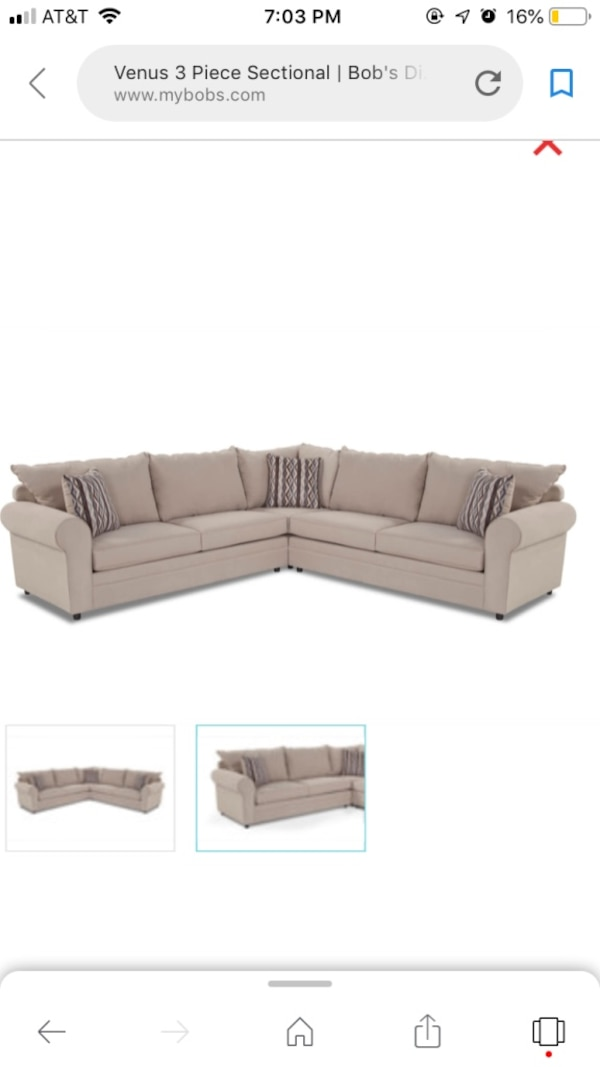 Cool 3 Piece Beige Sectional With Full Size Pull Out Bed Ocoug Best Dining Table And Chair Ideas Images Ocougorg