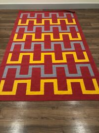 Brand New Mid Century Modern Geometric Rug - 100% Wool - 6ft x 8ft New Orleans, 70130