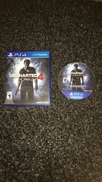"Uncharted 4 ""A Thief's end"" PS4 disc Toronto, M6H 3V5"