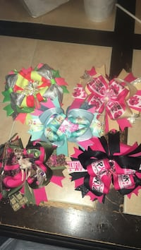 assorted color of ribbon wreath Corpus Christi, 78411