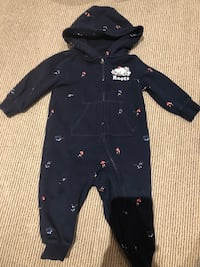 Limited edition roots hockey onesie