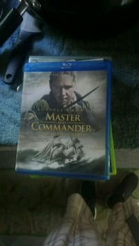Master and Commander Blu-ray DVD case Edmonton, T5B 3C3