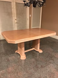 Wood Kitchen Table with extra insert Vaughan, L4L 8E1