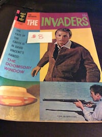 JUST REDUCED comic The Invaders