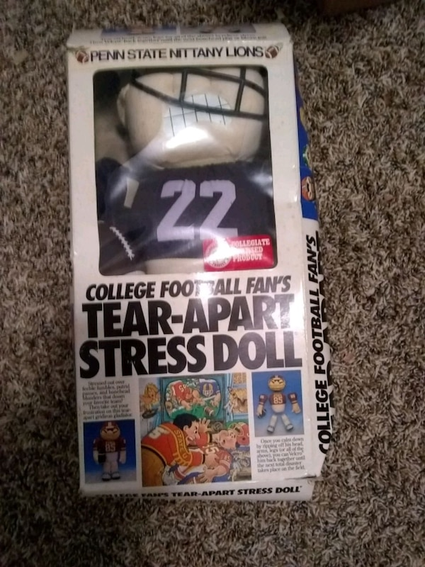 Used Penn State Tear Apart Stress Doll For Sale In Hopewell Letgo