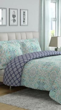 King reversible 3 pieces comforter set Keswick, L4P 3P2