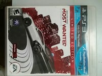 Need For Speed Most Wanted Sony PS3 game case