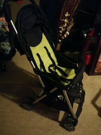 baby's black and gray stroller Jackson, 39209