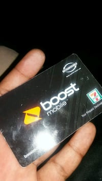 40$ boost moblie card for 30$ ive Changed companie Las Vegas