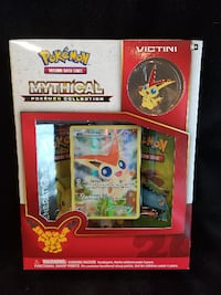 Pokemon Victini Mythical Collection Generations 20th Anniversary Springfield