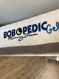 Bobopedic Full Size mattress  44 km