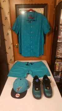 snapback shorts and button up