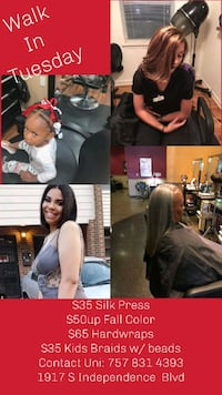 Hair styling Norfolk