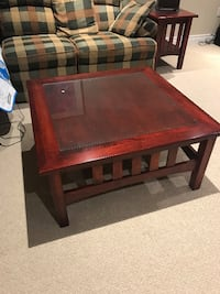 Solid wood coffee and end table Vaughan