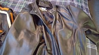 Heavy motorcycle jacket w removable liner