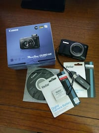 Canon PowerShot SX260 HS with accessories Alexandria, 22309