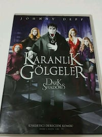 Dark Shadows - Tim Burton - Johnny Depp - DVD Acıbadem Mahallesi, 34718