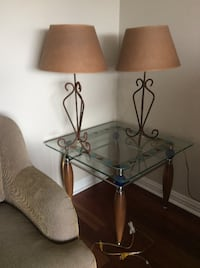 Table lamps (set of 2) TORONTO