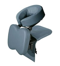 Seated massage head rest