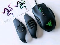 Razer Naga Trinity. MOBA/MMO Gaming Mouse. Power Overwhelming Toronto, M9V 2X6