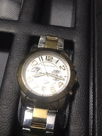 Michael Kors Watch gold and silver Dunkirk, 20754