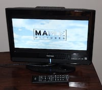 Toshiba LED TV with built in DVD player and remote