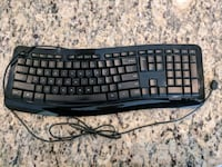 Wired Microsoft keyboard