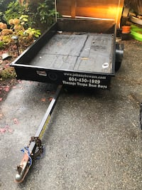 Utility trailer, all metal, good tires