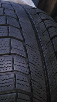 5 Michelin x ice tires 4 of them ballanced on acur Kitchener, N2E 4K2