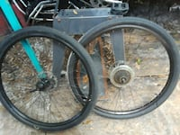29in mountain bike wheels and front fork Orlando, 32807