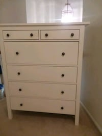 white wooden 4-drawer chest Springfield, 22152