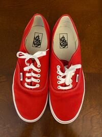 Red Vans Size 11 Springfield, 22152